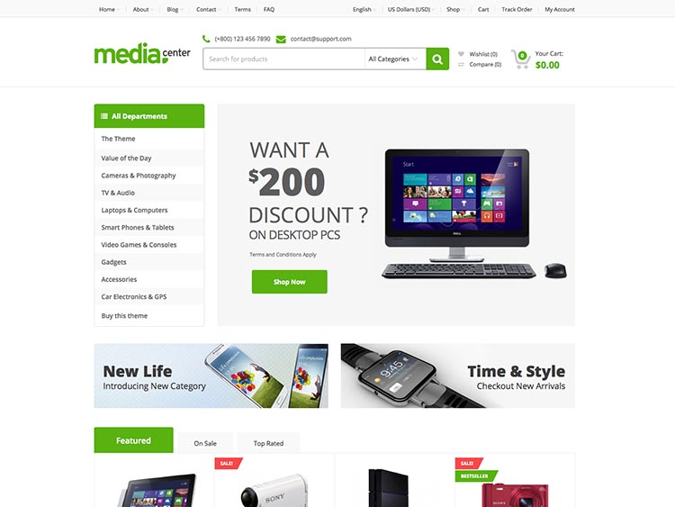 11+ Best WooCommerce Themes for Electronics & Computer Stores in ...