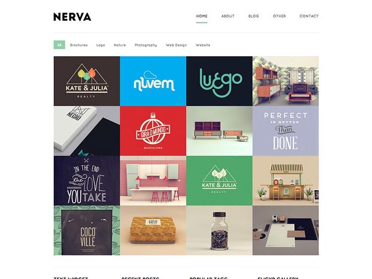 Nerva WordPress Theme