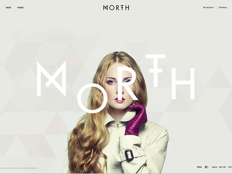 North Ecommerce Theme for WordPress
