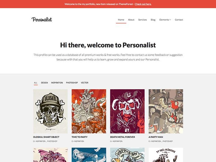 Personalist Portfolio Theme