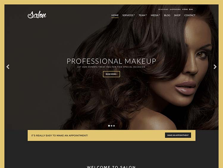 Best salon and spa theme for WordPress