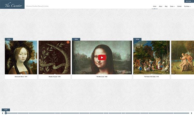 The Curator Theme for WordPress