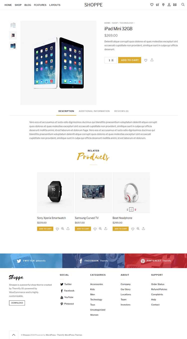 best electronics shop theme