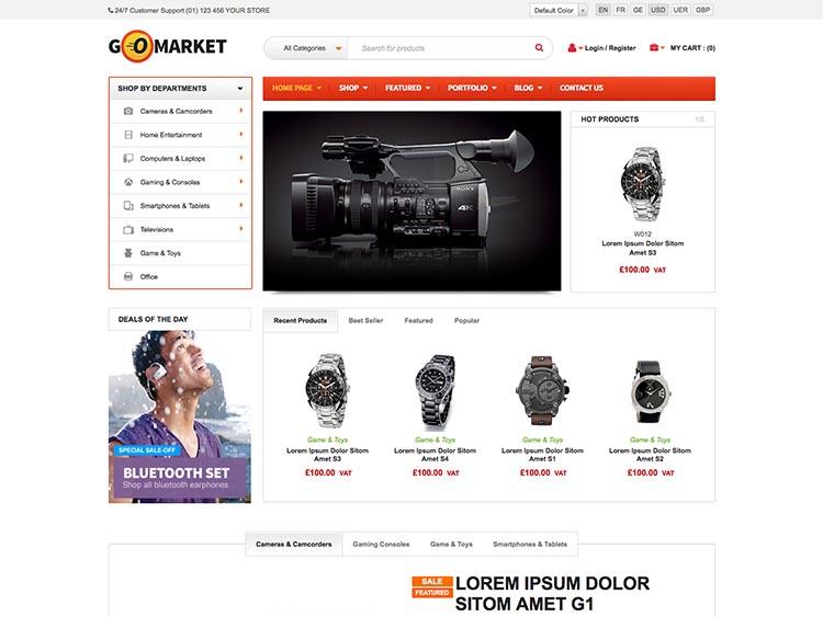 GoMarket WooCommerce Themes