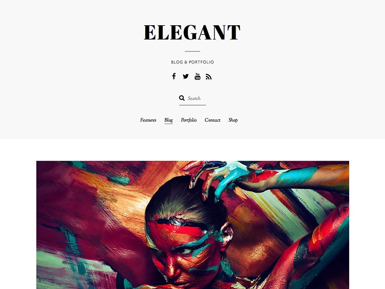 Elegant WordPress Personal Blog Theme