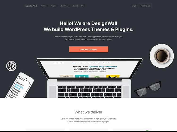 DesignWall WordPress Theme Shop