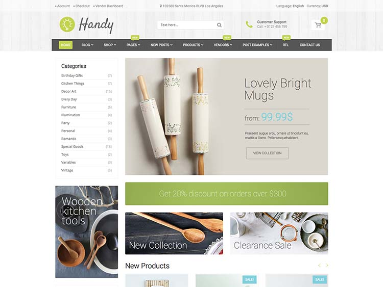 One of the best marketplace themes for WordPress