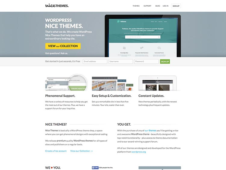 WordPress Theme Designer NiceThemes