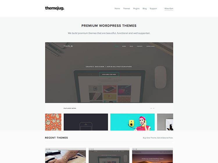 WordPress Theme Designer ThemeJug