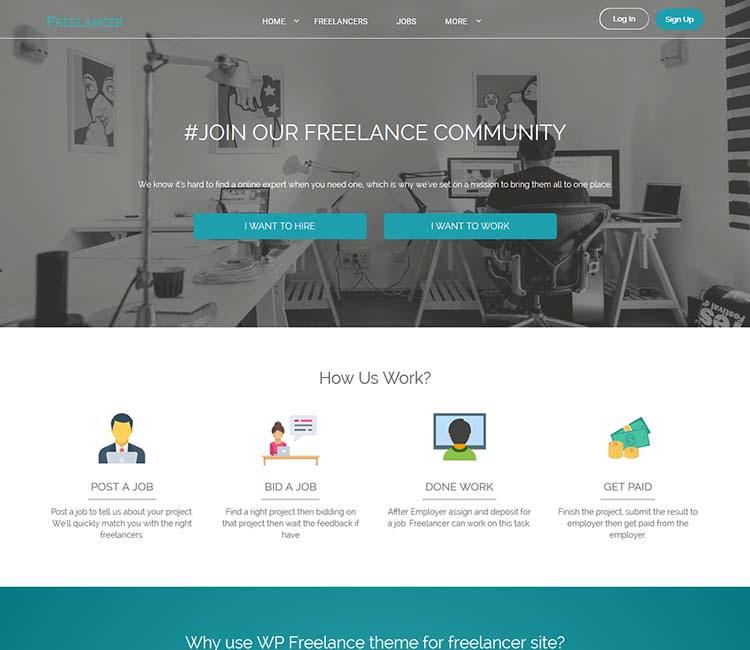 best wordpress feelance marketplace theme