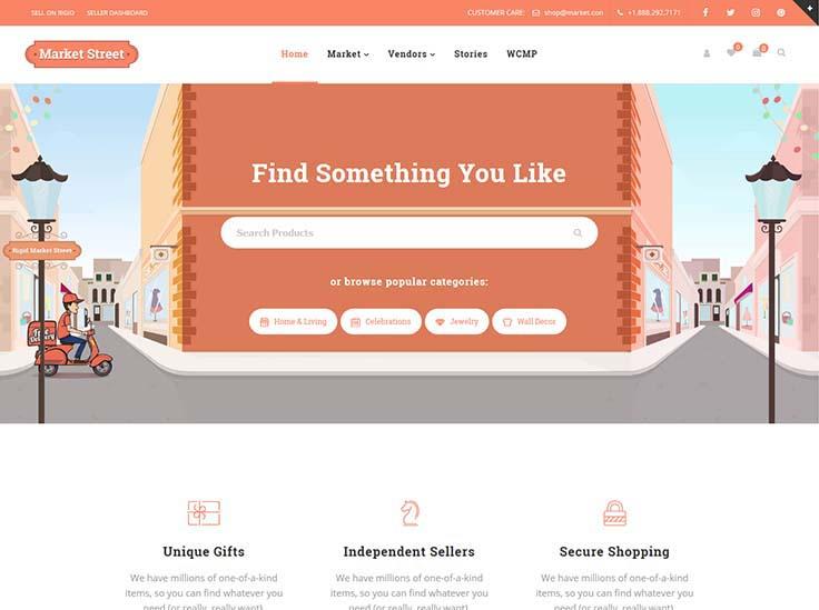 20+ Excellent Multi-Vendor WordPress Marketplace Themes