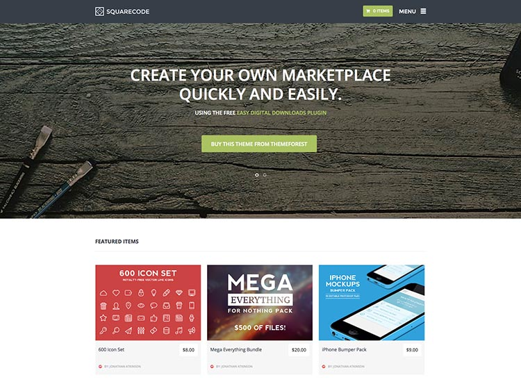 An excellent, feature-packed Multi-Vendor Marketplace Theme for WordPress
