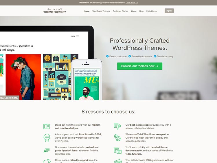 The Theme Foundry WordPress Theme Developer