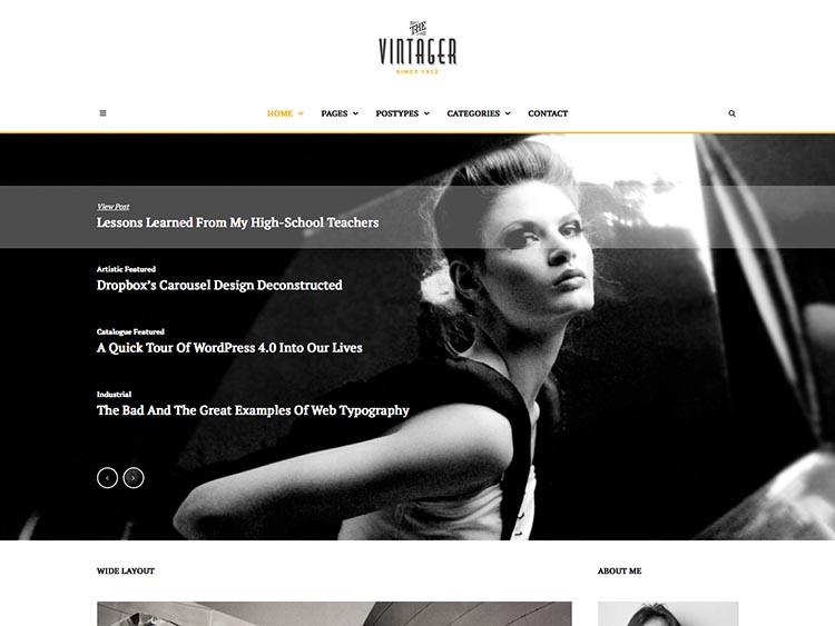 Vintager WordPress Theme