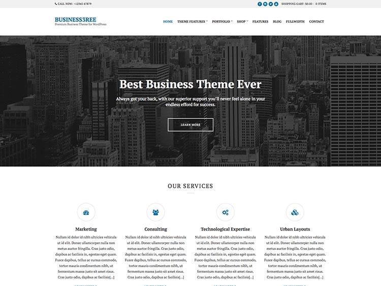 Business3reel WordPress Corporate Theme