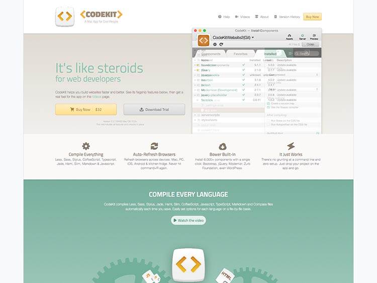 Codekit Screenshot