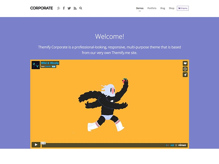 Corporate Theme by Themify