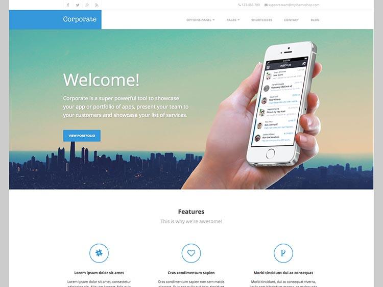 Corporate for WordPress