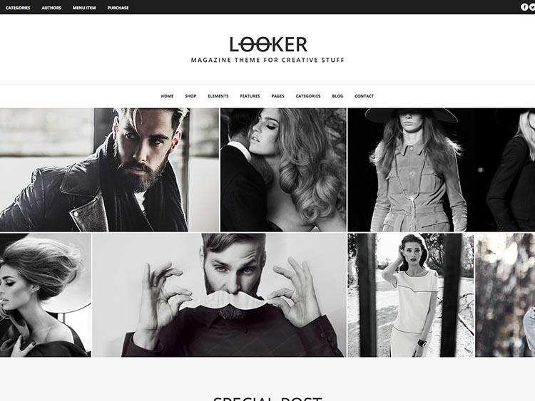 Looker Vintage theme for WordPress