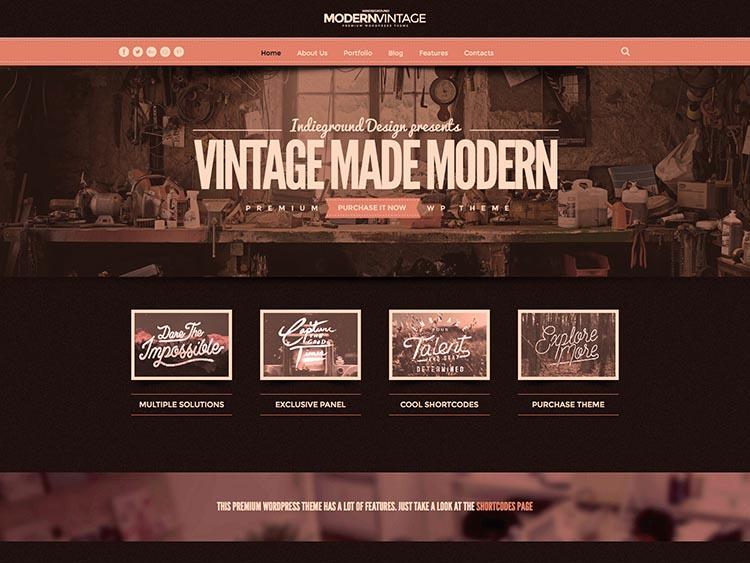 11 best retro vintage wordpress themes for 2018 siteturner