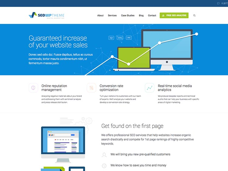 SEO WP Corporate WordPress Theme