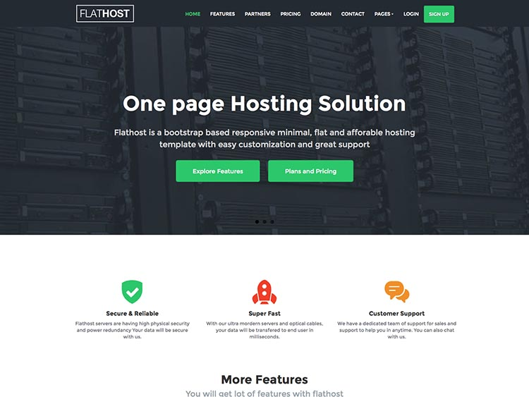 Best hosting theme for WordPress