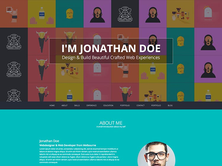 Flato Resume theme for WordPress