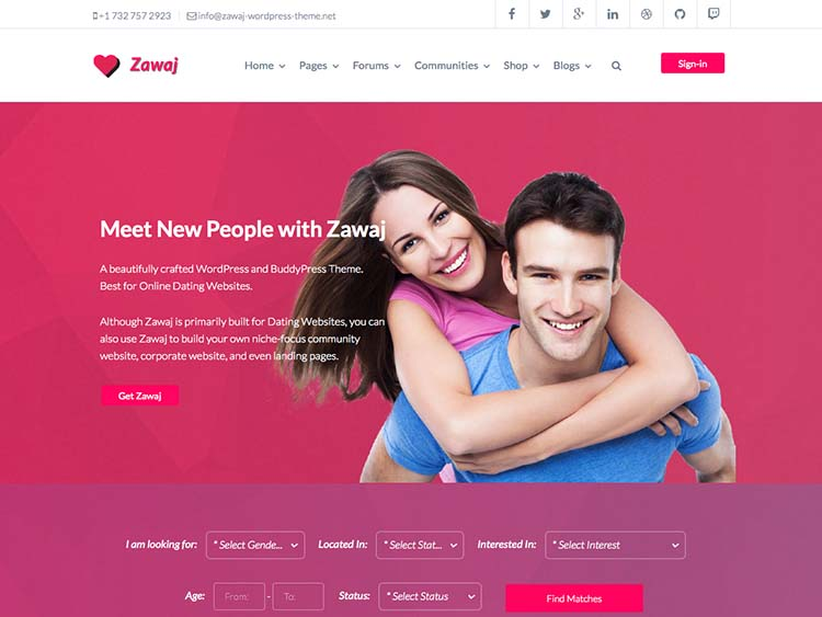 dating sites theme Demo site for premium wpdating theme & dating plugin.