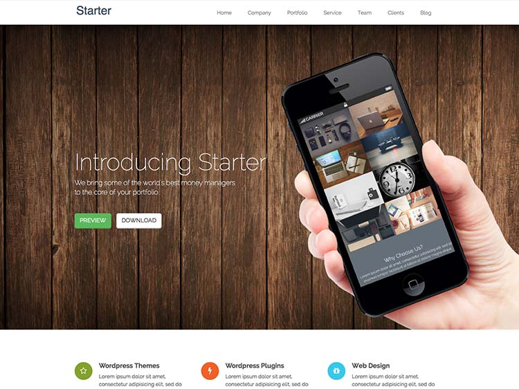 21+ Best Free WordPress Startup Themes for 2016 - Siteturner
