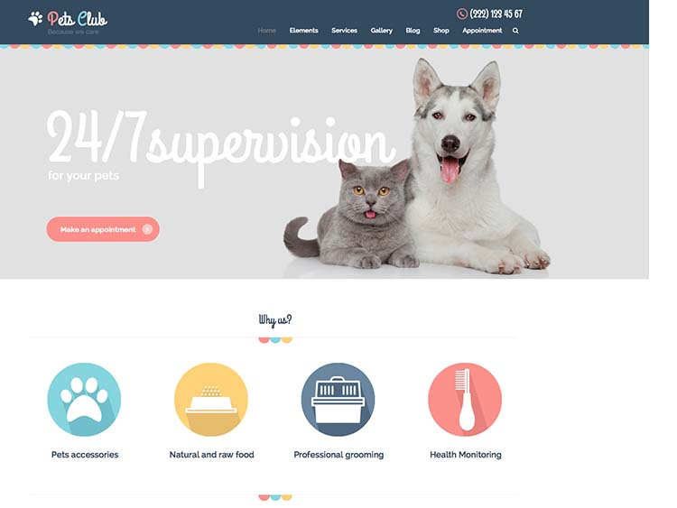 Best pet themes for WordPress