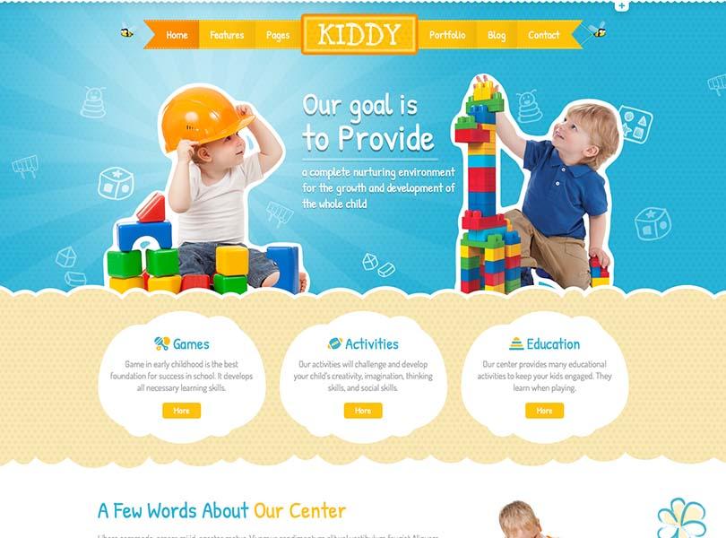 Kiddy | Children WordPress Theme 2016-01-20 19-15-05 - Siteturner