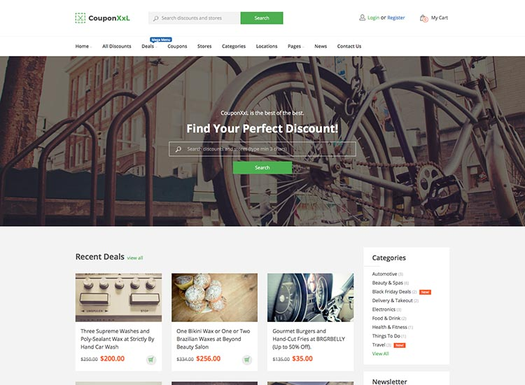 The best WordPress coupon theme
