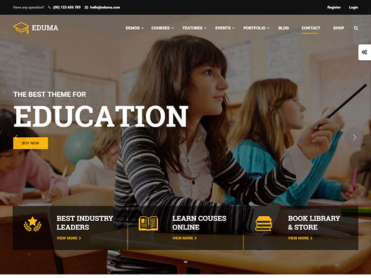 Best Education WordPress Theme for 2016