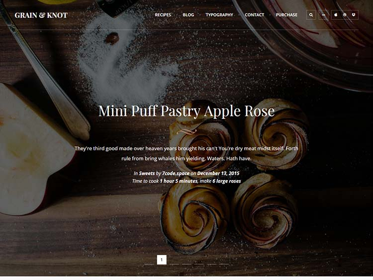 Grain Knot Just another WordPress Theme