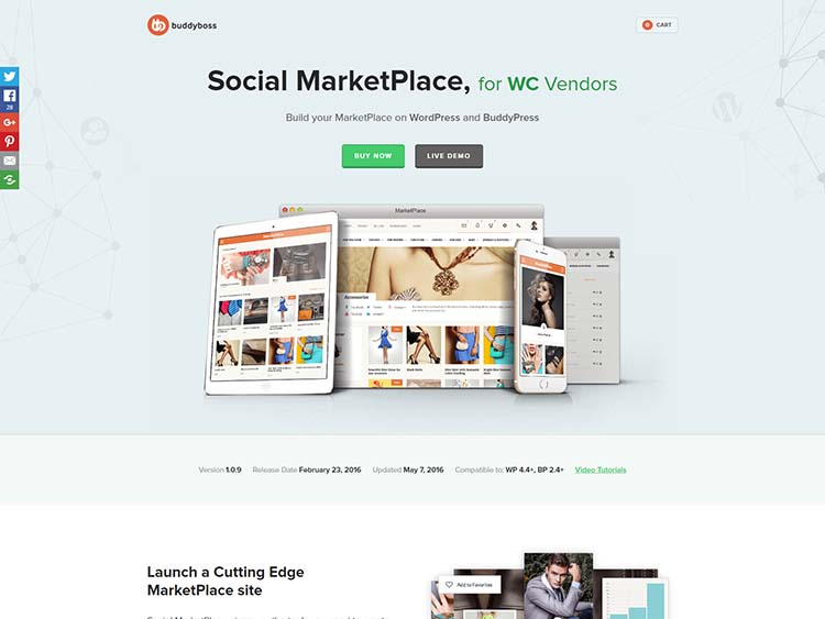 Social MarketPlace • BuddyBoss