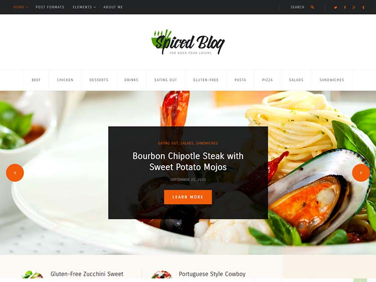 25 best wordpress food blog recipe themes for 2018 siteturner the best our favorite food blog and recipe theme forumfinder Gallery