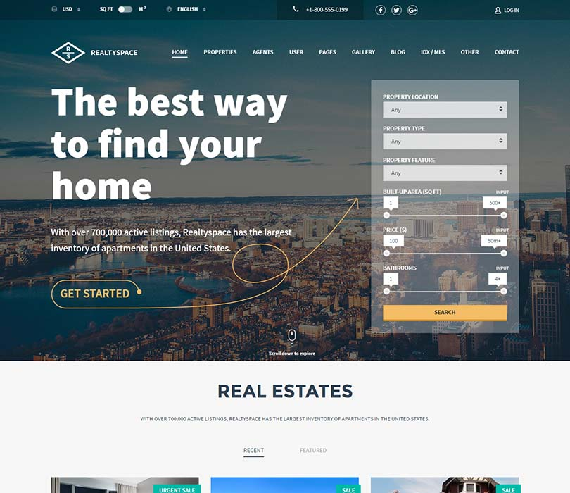 Our favorite WordPress real estate theme