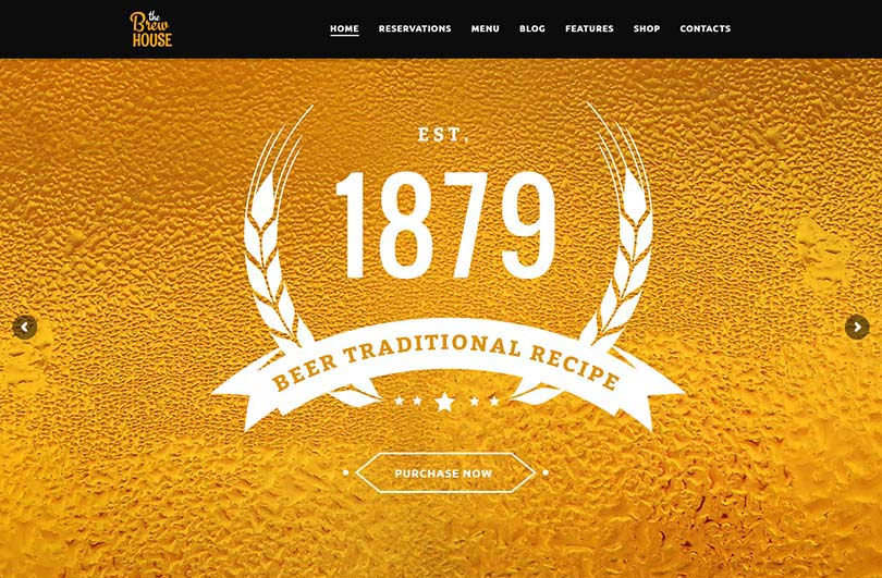 The best brewery theme for WordPress