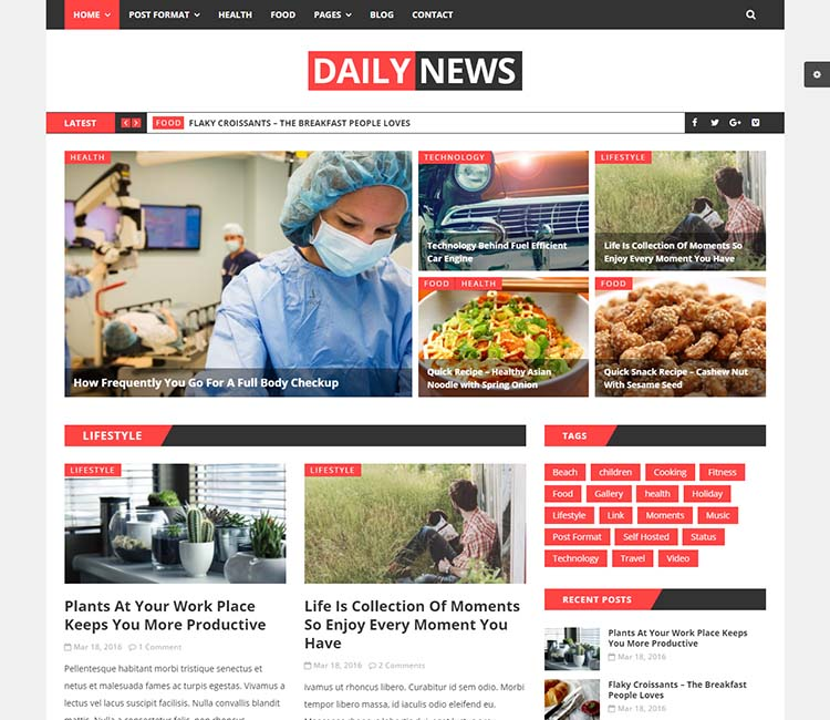 11 Best Wordpress Newspaper Themes For 2018 Siteturner