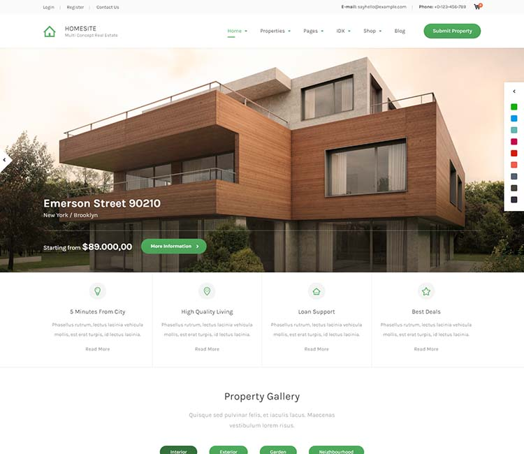 Best WordPress real estate theme