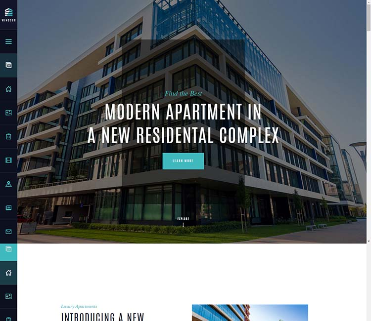 Realty and property management theme for WordPress