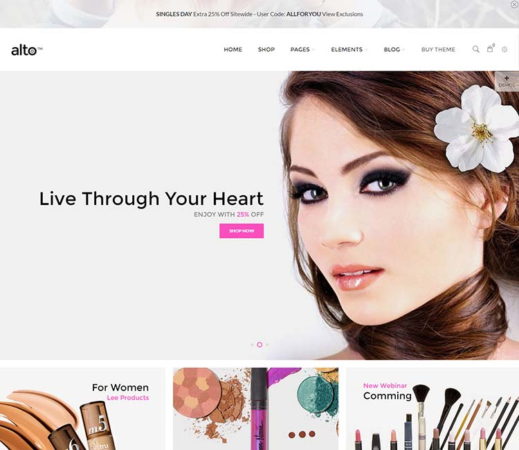 11 Best Wordpress Cosmetics Themes In 2020 Siteturner