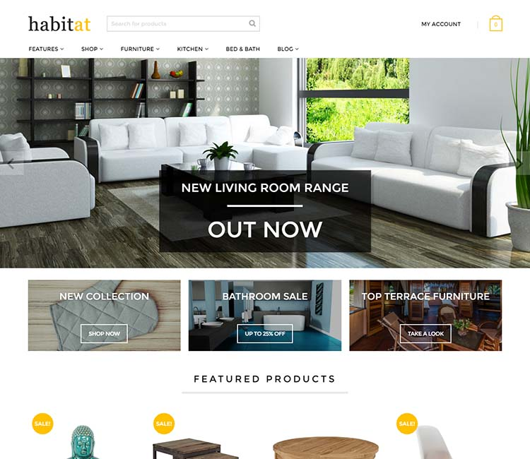 8+ Best WordPress Furniture Store Themes in 2018 - Siteturner