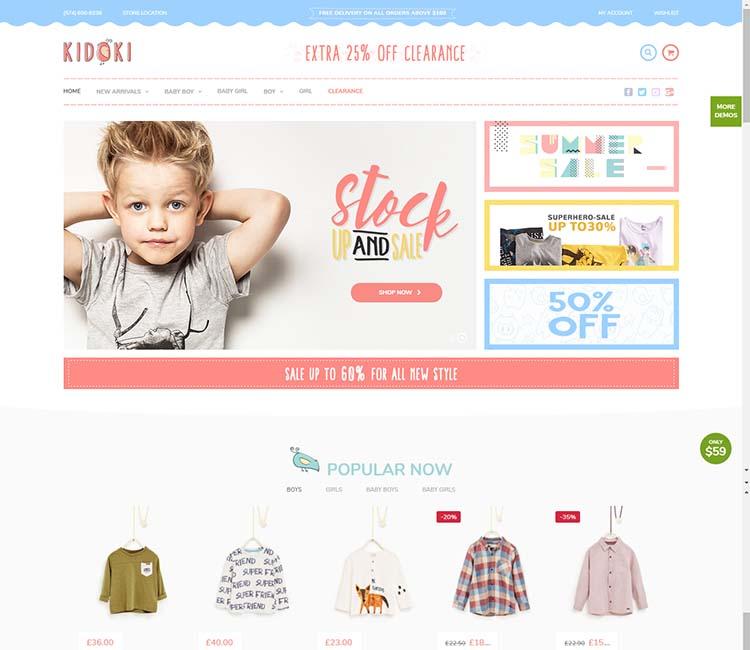 b8e6d8ab3 8+ Best WordPress Baby Shop Themes in 2019 - Siteturner
