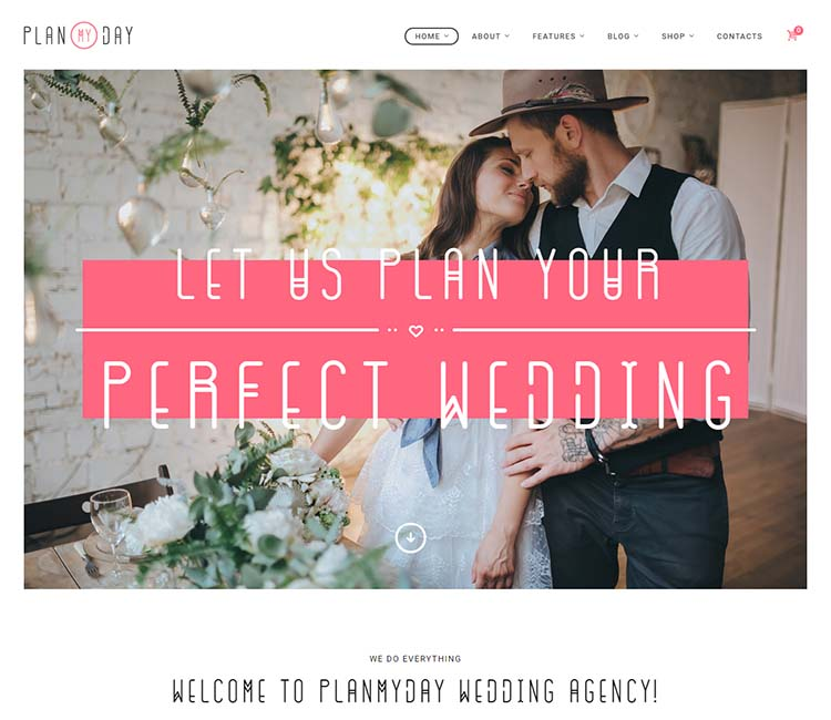 8 Best Wedding Planner Wordpress Themes For 2018 Siteturner