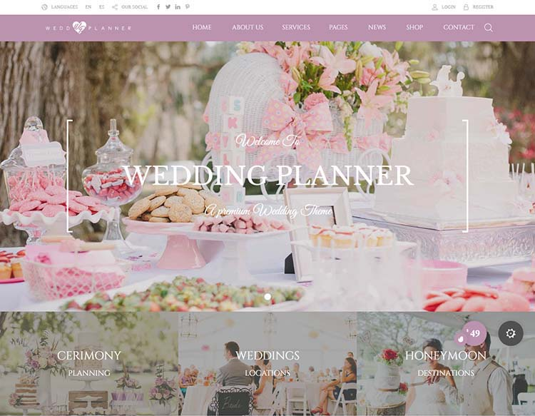 Best Wedding Planner: 8+ Best Wedding Planner WordPress Themes For 2019
