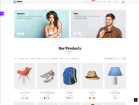 Deep - One of the best cheap Wordpress themes