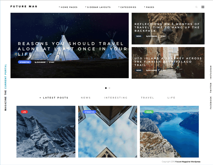 Future Mag theme - one of the best cheap WordPress themes