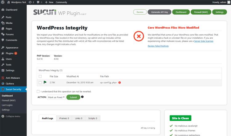 sucuri wordpress plugin for wordpress: the best wordpress malware plugins and services