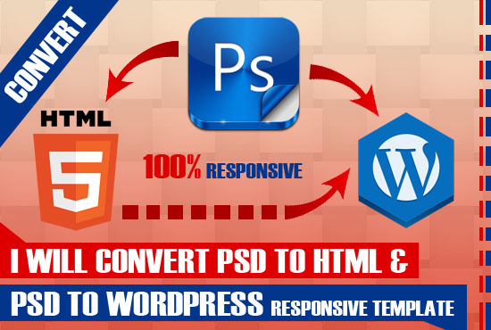 WordPress blog PSD HTML to WordPress